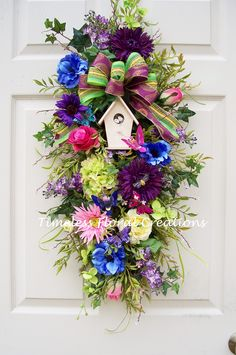 Summer time swag.... http://www.timelessfloralcreations.com/ https://www.facebook.com/timelesswreaths