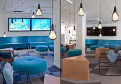Skype offices by PS Arkitektur, Stockholm office design