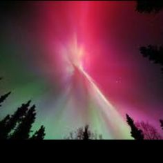 The Aurora Borealis! I so want to go to Alaska or Canada to see this in person!