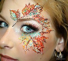 So cool!! Totally want to do this on Halloween!