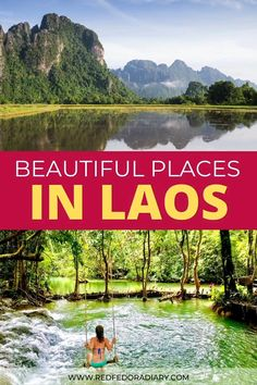 Wonder what Laos has to offer? Check out some of the best places to visit in Laos on your next trip to this still untouched country   #laositinerary #laos #southeastasiatravel #southeastasia #laostravel   laos travel   Laos itinerary   places to visit in Laos   Laos places to visit   Laos places   laos beautiful places Laos Travel, Asia Travel, Vietnam Travel, Travel Abroad, Beautiful Places To Visit, Cool Places To Visit, Places To Travel, Luang Prabang, Amazing Destinations