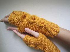 more fingerless mittens