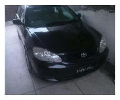 Toyota Corolla XLI Model 2006 Black Color For Sale In Lahore