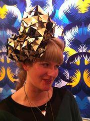 Leather metallic ORIGAMI TRIO Origami, Metallic, Crown, Leather, Jewelry, Jewellery Making, Corona, Jewels, Jewlery