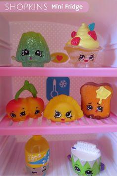 shopkins refrigerator set