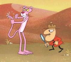 Pink Panther and the Inspector 60s Cartoons, Vintage Cartoons, Famous Cartoons, Classic Cartoons, Cartoon Cartoon, Cartoon Games, Cartoon Shows, Cartoon Characters, Rosa Panther