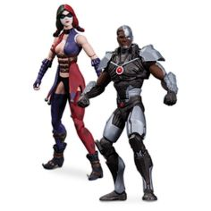 DC Collectibles Injustice Cyborg vs. Harley Quinn Action ...…