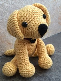 Would you like your very own handmade replica of your Labrador? A cute copy of your adorable pup, to proudly display in your home? In this article I am going to share with you some simple instructionsfor how to make or order your very own crochet Labrador. The pattern below is for the yellow Lab
