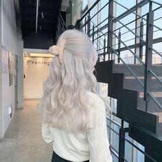 Hair Barrettes, Hair Clips, Hair Inspo, Hair Inspiration, Korean Hair Color, Hair Dye Colors, Dye My Hair, Aesthetic Hair, Pretty Hairstyles