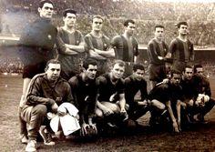 Equipos de fútbol: BARCELONA contra Real Madrid 02/02/1958