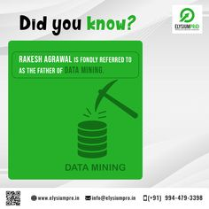 Know the facts of Data Mining! Did You Know, Knowing You, Fun Facts, Student, Funny Facts