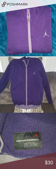 9e1afa52f147c7 Shop Men s Jordan Purple size L Jackets   Coats at a discounted price at  Poshmark.
