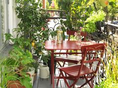 - Transforming your balcony into useful lively space is not a very difficult task. If your balcony is connected to your living room then it is very impo. Small Balcony Decor, Porch And Balcony, Balcony Plants, Balcony Garden, Balcony Ideas, Ikea Outdoor, Outdoor Living, Outdoor Decor, Metal Patio Furniture