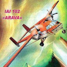 IAI 102 Arava Free Aircraft Paper Model Download