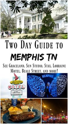 A Two-Day Guide to Memphis, Tennessee. Memphis Tennessee, Memphis Bbq, Usa Travel Guide, Travel Usa, Travel Guides, Travel Tips, Graceland, Zermatt, Elvis Presley