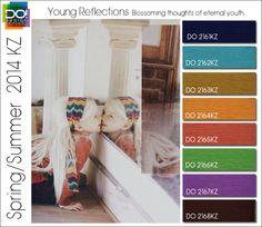 Spring Summer 2014 Color Trends for Kids by Design Options