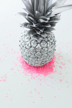 Fond d'écran iphone ananas taches roses