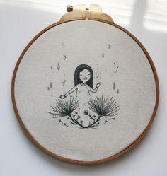 El blog de Dmc: Victoria Assanelli una ilustradora enamorada del bordado
