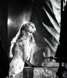 Brigitte Bardot, 1958 visite du Louvre