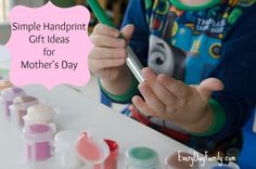 7 Simple Handprint Crafts for Mother's Day