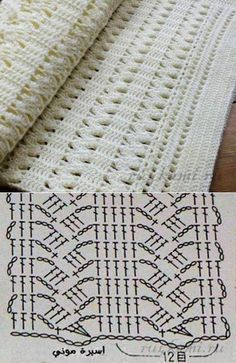 Watch This Video Beauteous Finished Make Crochet Look Like Knitting (the Waistcoat Stitch) Ideas. Amazing Make Crochet Look Like Knitting (the Waistcoat Stitch) Ideas. Filet Crochet, Poncho Au Crochet, Crochet Diagram, Crochet Chart, Crochet Scarves, Crochet Motif, Baby Blanket Crochet, Crochet Baby, Knit Crochet
