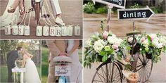 Una boda sobre ruedas: ¡decora tu boda con bicis!