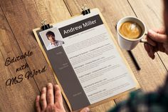 Word Resume Template by Visual Impact on Creative Market