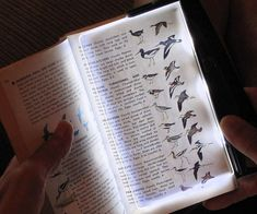 Read all night long without straining your eyes by illuminating your reading material using the LED book light. Unlike conventional lamps, the ingenious design allows you insert the light directly into the book and illuminate the page from beneath.