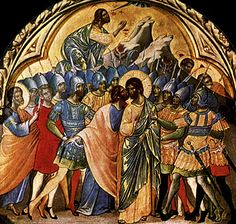 Le Baiser de Judas, Paolo Veneziano, Venise, Accademia