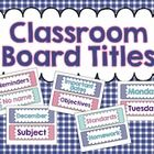 Decorate your whiteboard at the same time as keeping your priorities in check in your classroom! The students will always know what they need to ac...