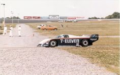 Klaus Ludwig and Doc Bundy at Charlotte 1985. Their race ended up abruptly when the car took fire. — with Doc Bundy.