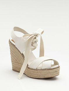 Shoes for Thought Thursday, For the Spring Bride : Coastside Couture