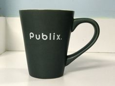 Publix Supermarket green matte coffee cup funnel mug M Ware ceramic 12 oz | Home & Garden, Kitchen, Dining & Bar, Drink Containers & Thermoses | eBay!