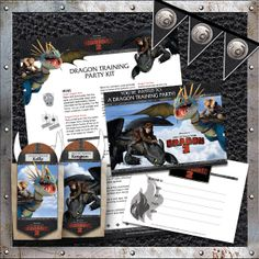 Download a FREE #HTTYD2 party kit to host your very own dragon trainer party!  http://www.howtotrainyourdragon.com/play/downloads