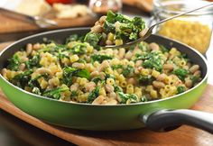Savory White Beans & Spinach