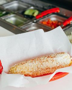 Elote Powdered in Cheese and Chile  #LetsTaco  #TheTacoStand