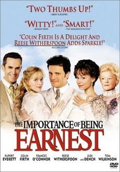 The Jane Austen Film Club: The Importance of Being Earnest 2002-Oscar Wilde and Colin Firth