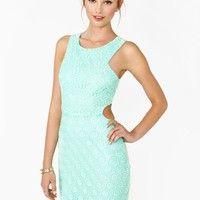 Daisy Dot Lace Dress