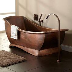 57 Copper Bathtub Design Ideas To Get The Most Luxurious Soak