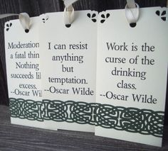 Oscar Wilde Quote Tags