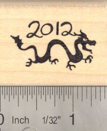 Year of the Dragon 2012 Rubber Stamp ** Read more reviews of the product by visiting the link on the image.