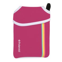 Polaroid Neoprene Pouch for The Polaroid ZIP Mobile Printer (Pink)
