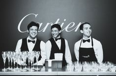 Stones Events' Fabulous Bar Staff | Cocktail Event | Cartier