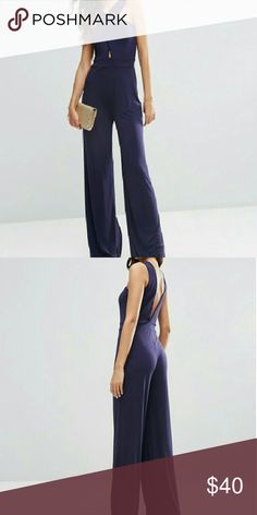 💝hp 💝Asos long jumpsuit 96%polyester 4% elastane this was also host pick for style statement party........Let's get ready for Spring ladies ASOS Pants Jumpsuits & Rompers