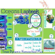 FREE Ocean Lapbook Printable