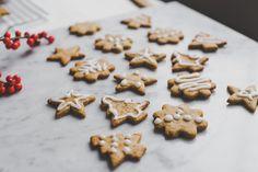 Vegan kerstkoekjes. Omdat kerst zonder koekjes eígenlijk geen kerst is.
