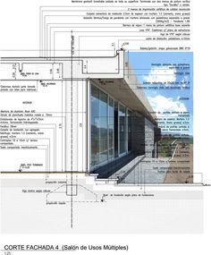 Club House Altos de San Antonio,Detalhe Construtivo 2