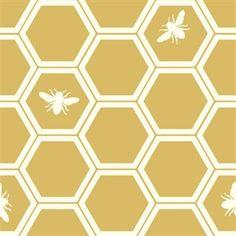 The Grove Canvas - Honeycomb Sun by Jay-Cyn Designs for Birch Fabrics | HoneyBeGood