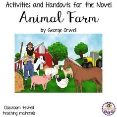 This is an extensive assortment of activities and handouts for the novel Animal Farm by George Orwell. There are 169 pages included in this unit.