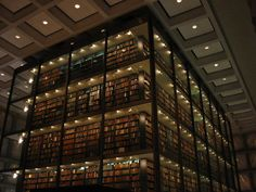 Beinecke Rare Books & Manuscripts Library at Yale; New Haven, Connecticut   19 Totally Magical Libraries To Visit Before You Die